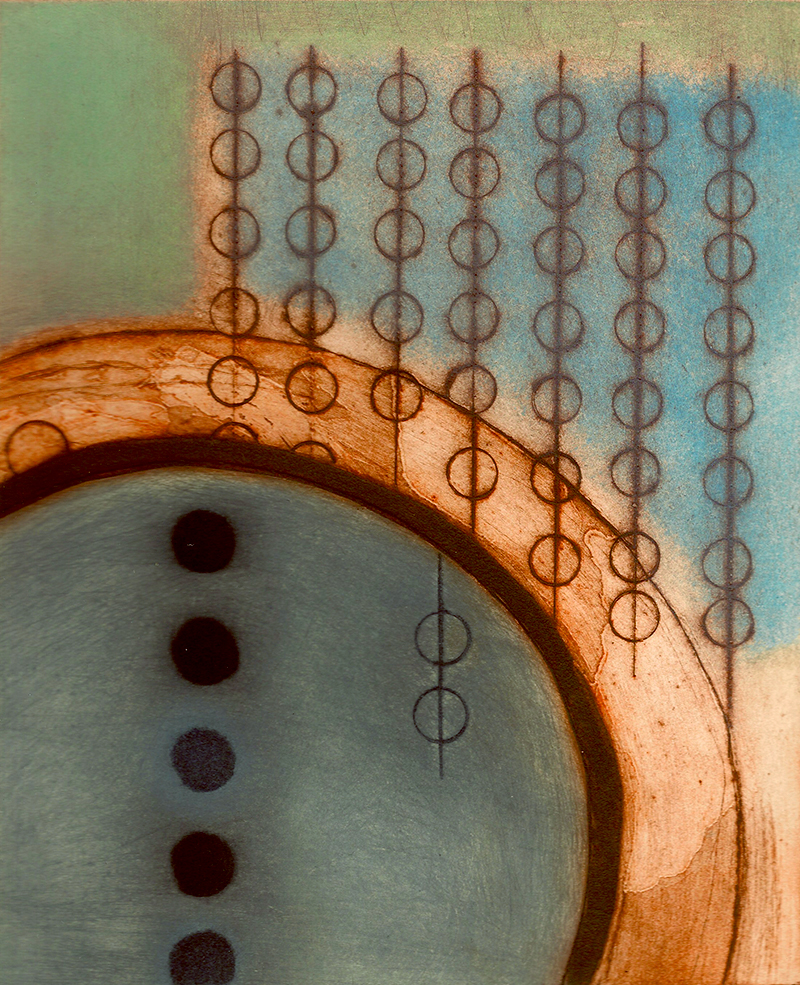 Abstract image inspired by code machine